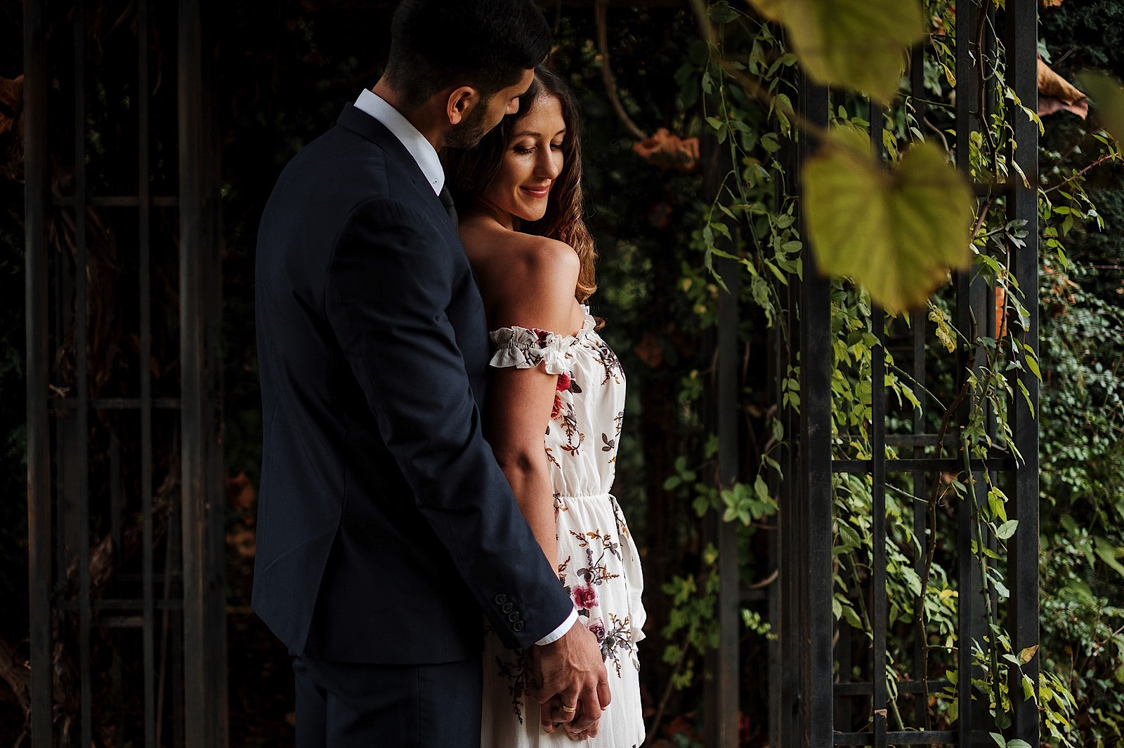 A couple during a Pre Wedding Shoot in London