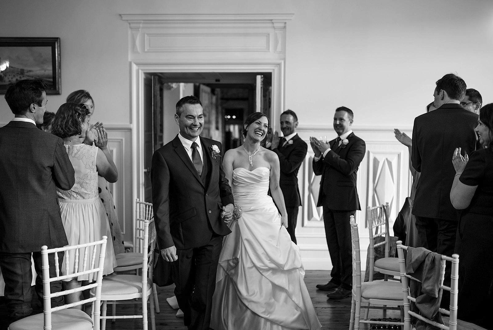 The Beauty of Black and White Wedding Photography