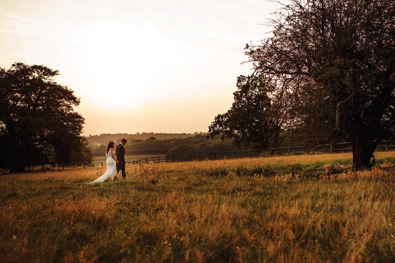 Gaynes Park Wedding | Feri & Chris