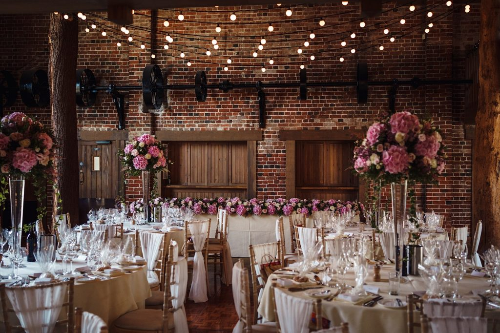 Interior Photo of Gaynes Park Wedding Venue