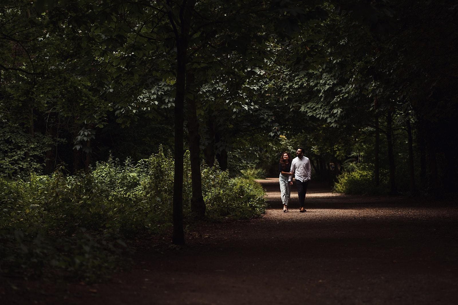 Couples Shoot Holland Park London